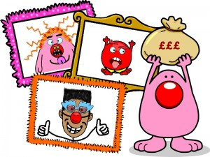 Busythings - Red Nose Day Project