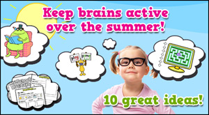 Ideas to keep brains active over the summer