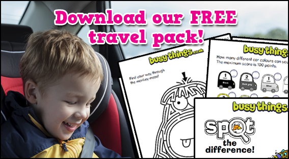 Free Travel Activity Pack