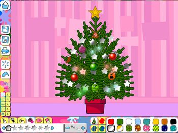 Decorate a tree activity