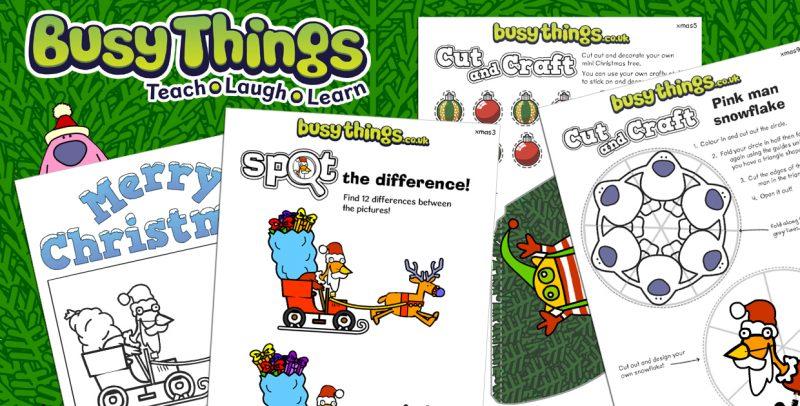 Christmas Activities For Kids.Christmas Activities For Kids Free Activity Pack Busy