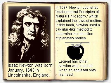 Isaac Newton info