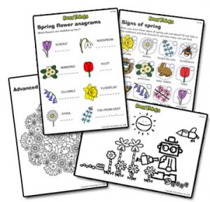 Busy Things Free Spring Printables