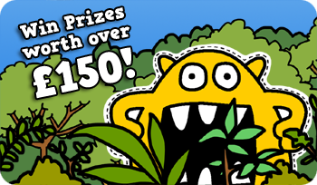 Over £150 Prize pot in Busy Things Monster competition