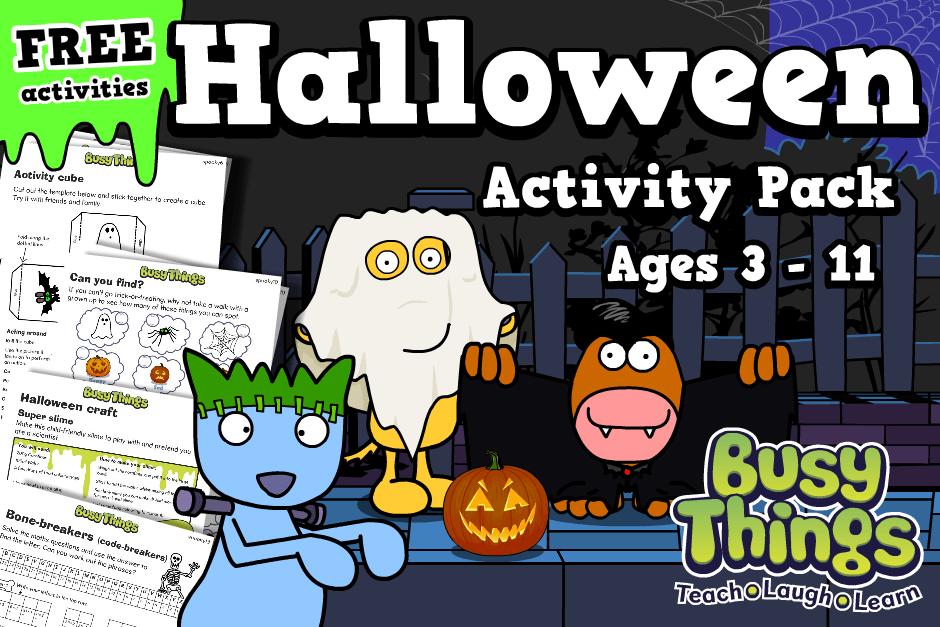 Halloween Activities for Children - free