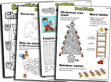 Christmas activities for kids to do