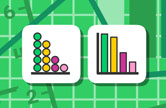 Busy graph maker icon