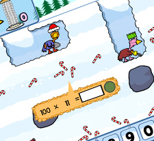 Miner birds: Christmas edition icon