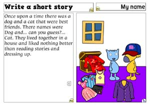 Write a short story icon
