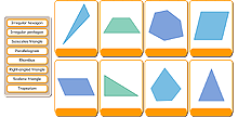 Name the shapes - advanced 2D shapes icon